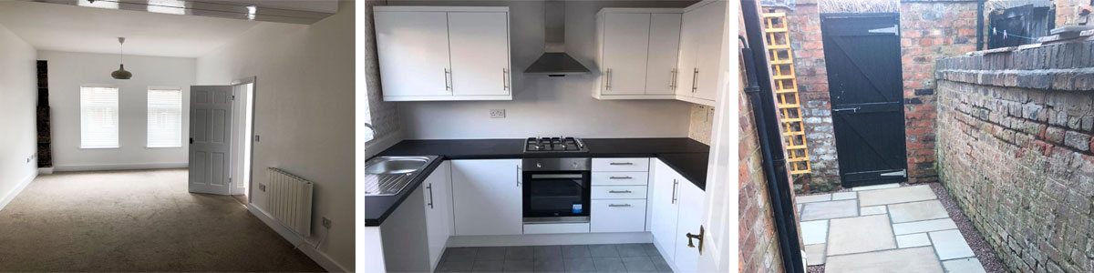 Examples of decorating and refurbs for Landlords in Wrexham and Chester