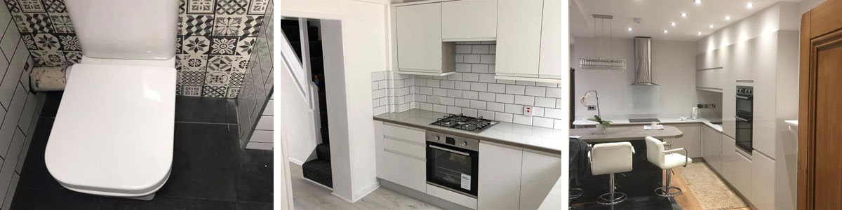 Examples of property refurbs in Wrexham and Chester