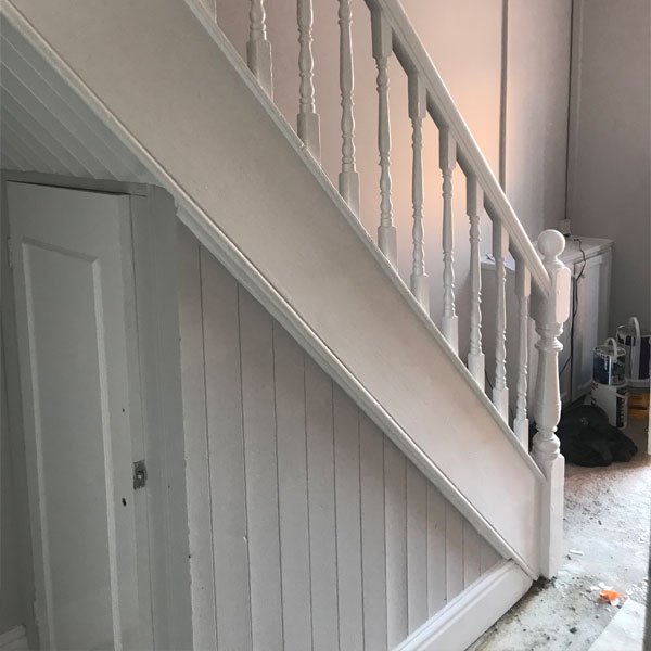 New staircase at home in Wrexham