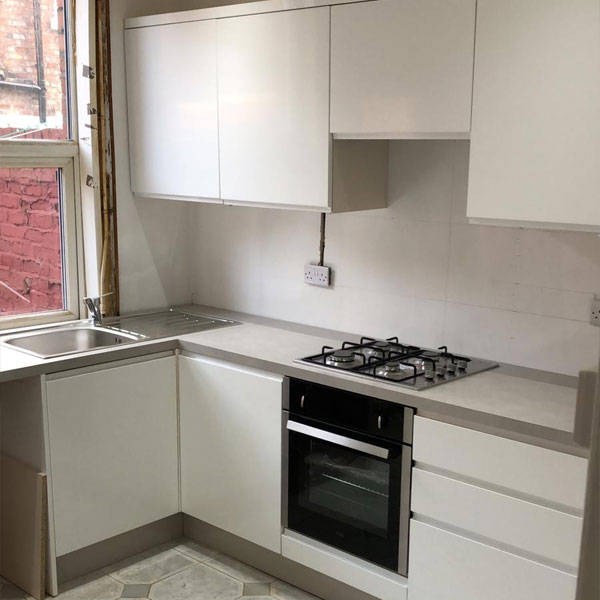 New kitchen fitted in Chester