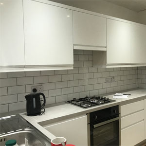 New kitchen at Chester property